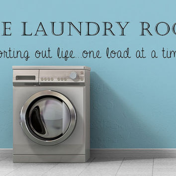 The Laundry Room Wall Decal, Vinyl Wall Decal, Laundry Room Sign, Laundry Room Decal