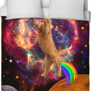 ROB Space Cat Duvet Cover
