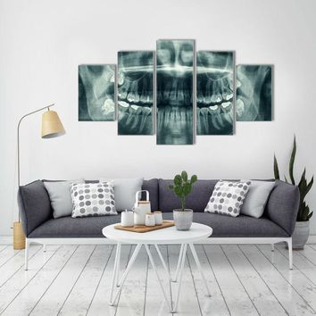 Panoramic Dental X-ray Wall Art