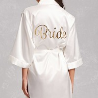 Pretty Robes Satin Bride Robe