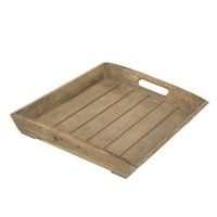 Reclaimed Wood Finish Tray