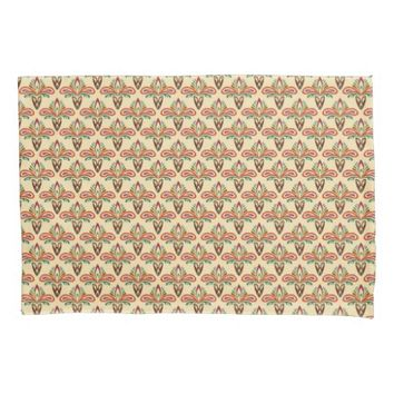 Abstract Tribal Pattern Pillowcase