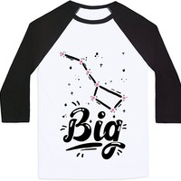 Dippers (Big Dipper) Mens/Unisex Baseball Tee by LookHUMAN