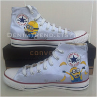 Minion Shoes - One Side Painted