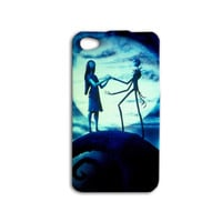 Sally and Jack iPhone Case Cute Phone Case Sweet iPod Case Halloween Christmas Cover iPhone 4 Case iPhone 5 iPhone 4s iPhone 5s iPod 5 Case