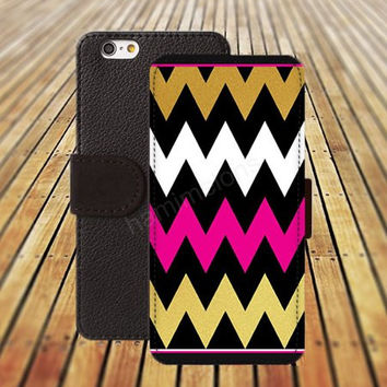 iphone 5 5s case dream Chevron black pink cat case iphone 4/ 4s iPhone 6 6 Plus iphone 5C Wallet Case,iPhone 5 Case,Cover,Cases colorful pattern L152