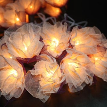 Fairy string lights 20 pieces for home decor,party decor,wedding patio,indoor string lights bedroom fairy lights from natural leaves