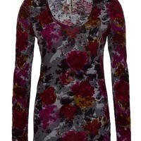 BKE All-Over Print Top