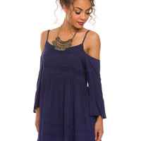 Spin Me Round Dress - Navy