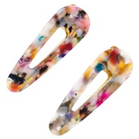 Multi-Color Hair Clip Set