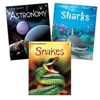 Usborne Books & More. Discovery Complete Library Collection (3)