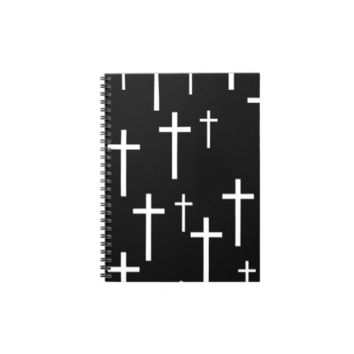 Crosses Note Book from Zazzle.com
