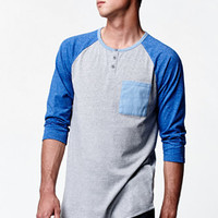 On The Byas Craig 3/4 Sleeve Raglan T-Shirt at PacSun.com