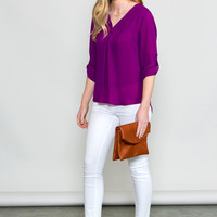 Esmeralda V-Neck Blouse