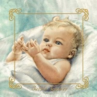 Baby Book - Gorgeous Baby Blue