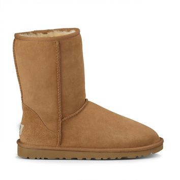 Classic Short Short Suede Boot