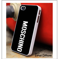 Moschino Logo iPhone 4s iPhone 5 iPhone 5s iPhone 6 case, Galaxy S3 Galaxy S4 Galaxy S5 Note 3 Note 4 case, iPod 4 5 Case