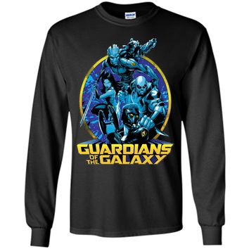 Marvel Guardians of the Galaxy Defend Graphic T-Shirt