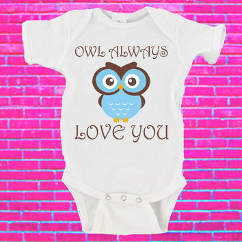 Owl Always Love You Gerber Onesuit ®