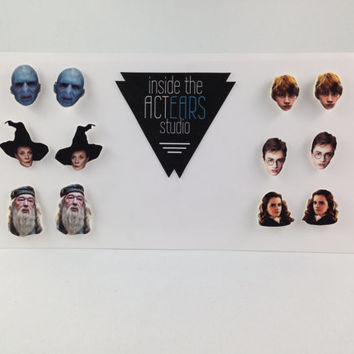 Harry Potter 6 Character Homemade Earring Set