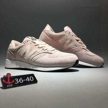 CREYON new balance 420 women fashion sport casual n words sneakers running shoes