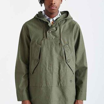 Stussy Military Poncho- Dark Green