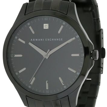Armani Exchange Black Stainless Steel Watch AX2159