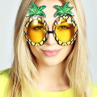Lori Pineapple Novelty Sunglasses