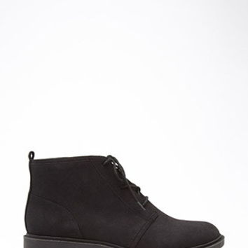 Lug Sole Ankle Booties