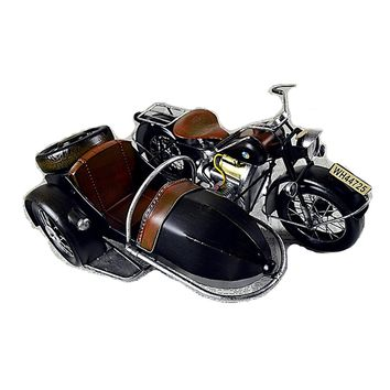 Large Scale Full-Iron Handmade Model Car - Classic Motorcycle BMW 1950s R50 - 🏁🏍️🛵🏎️🛢️