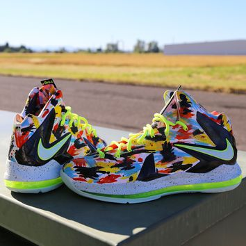 BC SPBEST Custom Nike Elite X Inside Out 579827-800 Completed Shoe
