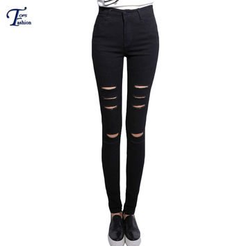Shop Womens Ripped Skinny Jeans on Wanelo