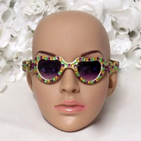 Mardi Gras - Mardi Gras Sunglasses - New Orleans - French Quarter - Girls Headband - Adult Headband - Costume Accessories - Girls Birthday