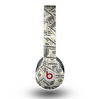 The Hundred Dollar Bill Skin for the Beats by Dre Original Solo-Solo HD Headphones