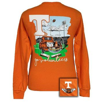 T-Shirt Tennessee Tailgates and Touchdowns Long Sleeve