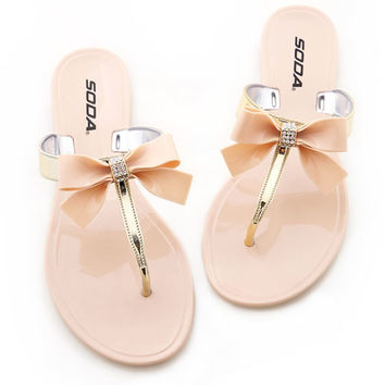 Royal Ribbon Sandal