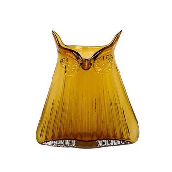 Magpie - The Modern Home - Large Owl Vase - Vern - Amber