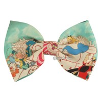 Licensed cool NEW Disney Alice In Wonderland Character Bow Tie Hair Clip Pin Cosplay Dress UP