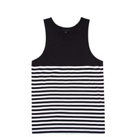 Black Scale - Rebel Striple Tank Top - Black