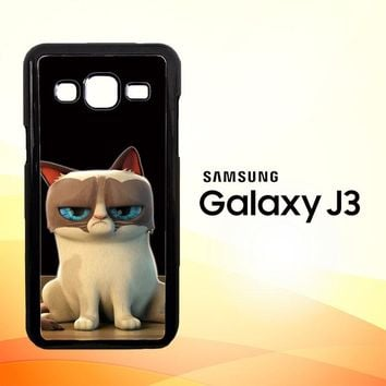 Grumpy Cat Animal 3D E1180 Samsung Galaxy J3 Edition 2016 SM-J310 Case
