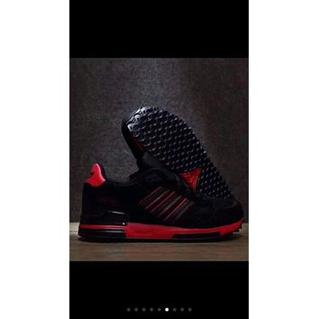 Adidas Clover ZX750 trendy retro running shoes F-PSXY Black + red