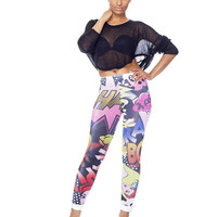 KABOOM COMIC STRIP Leggings – FLYJANE