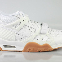 Nike Men's Air Trainer 3 White Gum Bottom