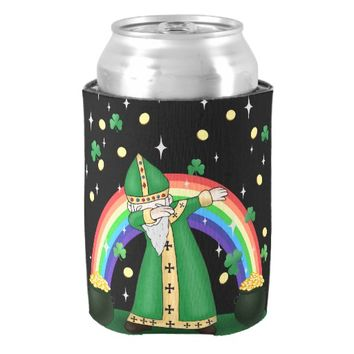 St. Patrick Dabbing Can Cooler