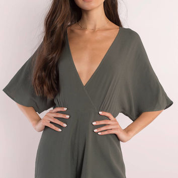 Danielle Open Back Romper