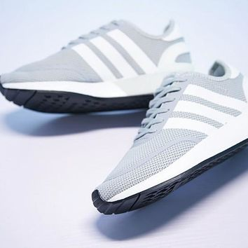 "Adidas N-5923 iniki Retro Running Shoes ""Gray""CQ2335"