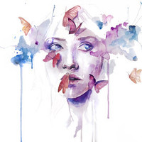 about a new place Art Print by Agnes-cecile | Society6