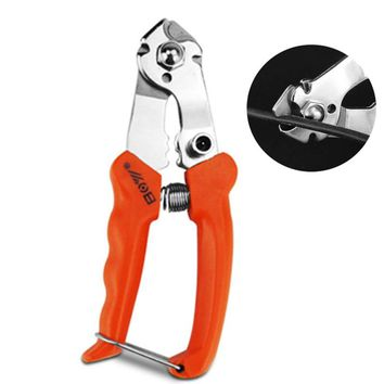 Bike Cable Cutter Stainless Steel Cycling Inner Outer BMX Brake Gear Shifter Wire Cutting Plier Clamp Bicycle Repair Tools