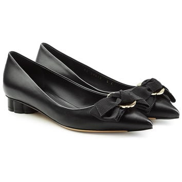 Talla Leather Pumps - Salvatore Ferragamo | WOMEN | KR STYLEBOP.COM