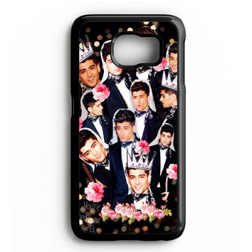 Zayn Malik One Direction Collage Samsung Galaxy S4 Galaxy S5 Galaxy S6 Edge Case | Note 3 Note 4 Note 5 Case